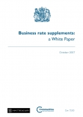 Business Rate Supplements: a White Paper