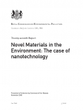 Novel Materials in the Environment: The case of nanotechnology