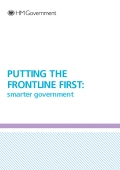 Putting the Frontline FIrst; Smarter Government