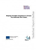 Mapping Foresight Competence in Europe: The EUROFORE Pilot Project